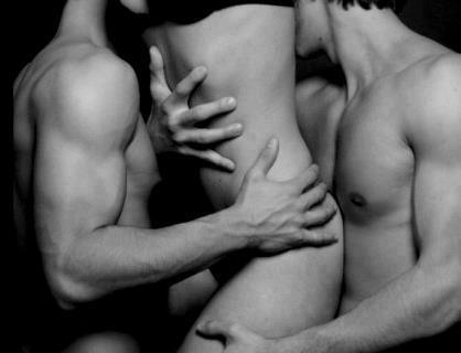 Threesome Two Men One Woman Porn Videos Pornhubcom